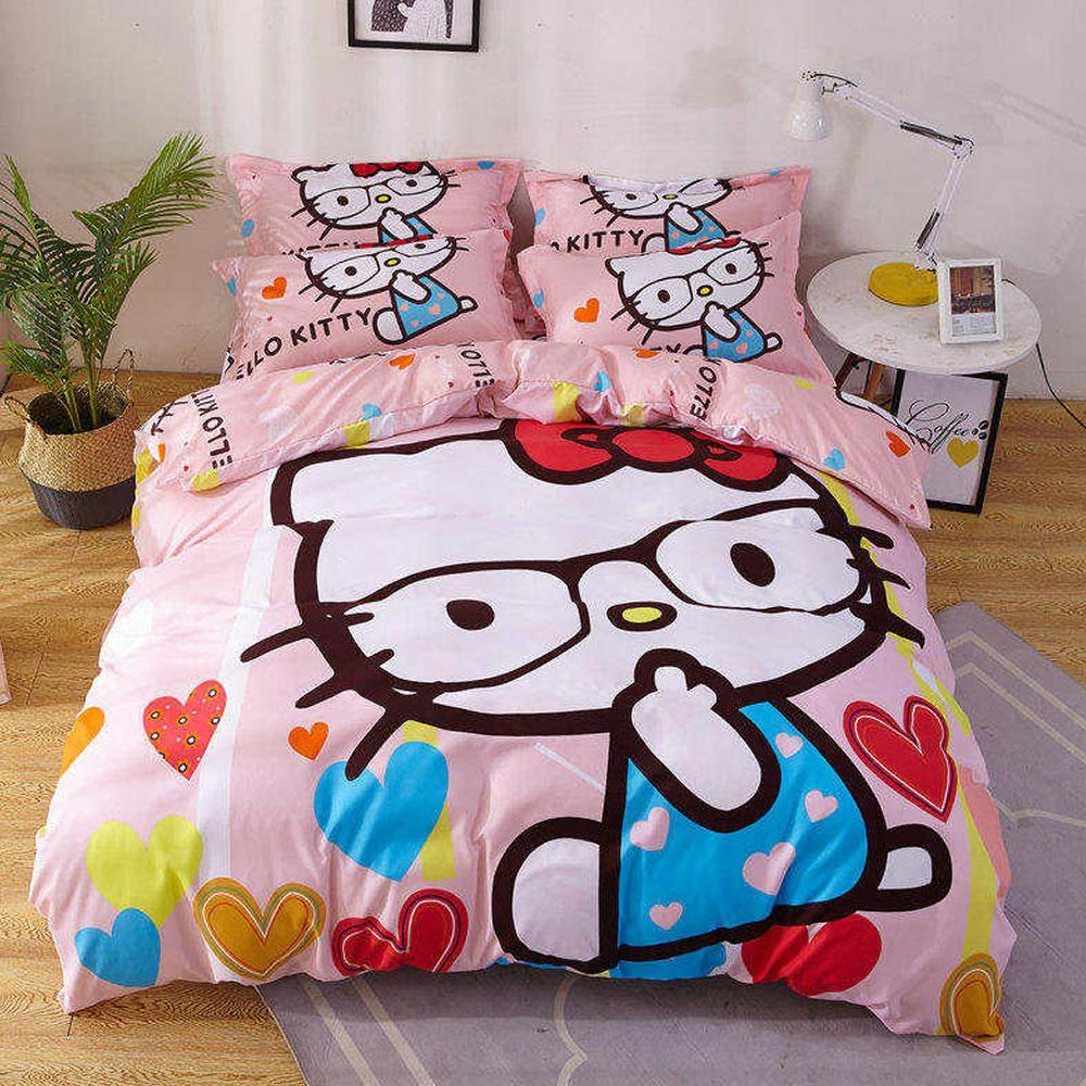 hello kitty bedding set