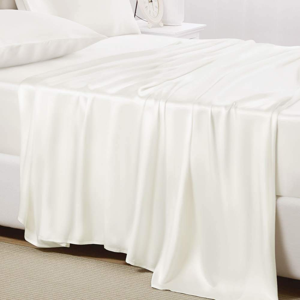buy ivory mulberry bed sheet