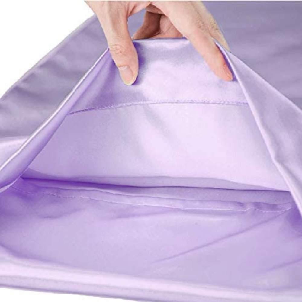 buy lavender sateen pillow slip